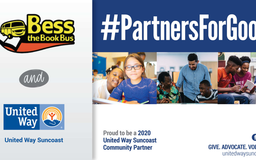 Bess The Book Bus, Inc. To  Receive  $35,000 In Community Investment Funding From United Way SuncoastCOAST