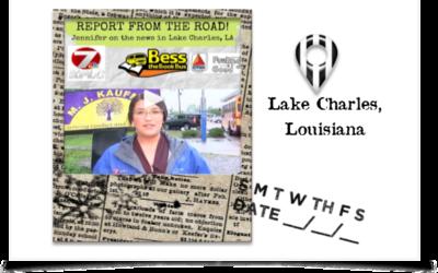 On The Road – Lake Charles, LA
